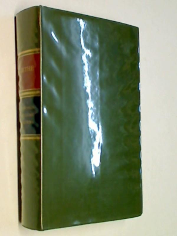Goethe, Johann Wolfgang von: Gedenkausgabe der Werke, Briefe und Gespräche, Bd. 17: Naturwissenschaftliche Schriften. Zweiter Teil. Dünndruckausgabe