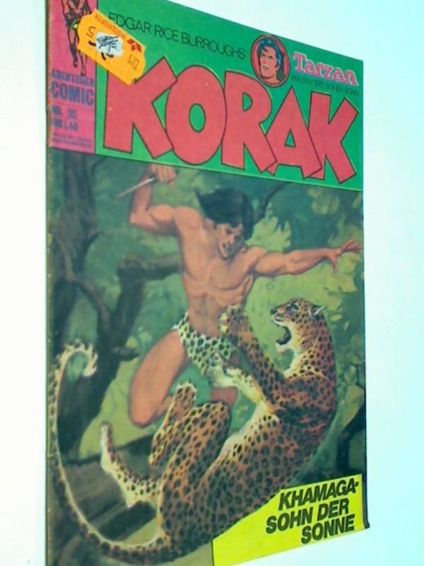 Korak Tarzans Sohn 95, Khamaga - Sohn der Sonne , BSV Williams Comic-Heft, ERSTAUSGABE 1975