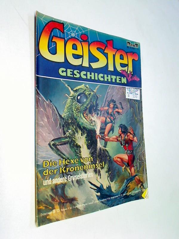 Geister Geschichten Nr. 8: Die Hexe von der Kroneninsel . Bastei Comic-Heft, ERSTAUSGABE 1981