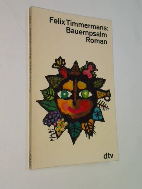 Bauernpsalm : Roman. dtv  1257