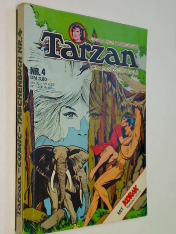 Tarzan Taschenbuch 4, mit Korak, Williams Comic (1976) Edgar Rice Burroughs.