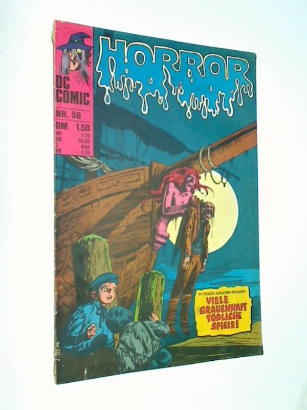 RubenyErnie Chua Quico Redondo u. a.: Horror 56 (House of Secrets)   BSV Williams DC Comic-Heft, ERSTAUSGABE 1976