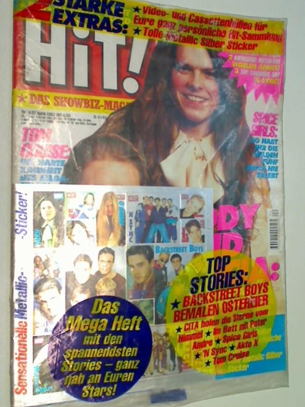 Hit ! Das Showbiz-Magazin 1997 Heft 4 Tom Cruise Spice Girls. , komplett mit Sticker, . Zeitschrift 4390914004505