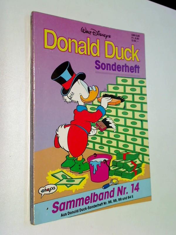 Die tollsten Geschichten von Donald Duck Sammelband 14 ( mit Sonderheft Nr. 96, 98, 99 und 64) Ehapa Comic