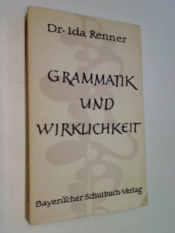 Grammatik und Wirklichkeit