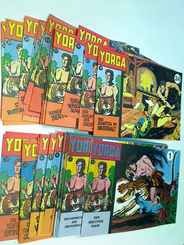 Yorga Bd. 1-10, 16-41, Comic-Heft, Set Sammlung Konvolut