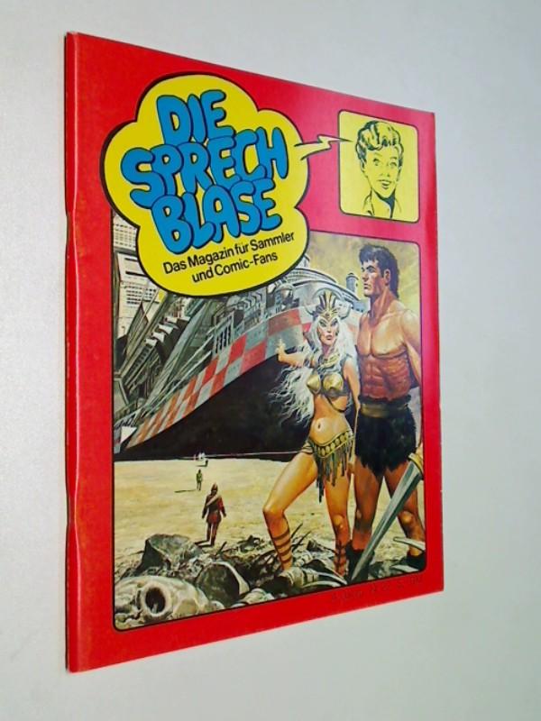 Die Sprechblase 22 mit Conan, Michel Vaillant, Storm, Phantom , 25.8.1979, Hethke Comics , Das Magazin für Sammler und Comic-Fans.