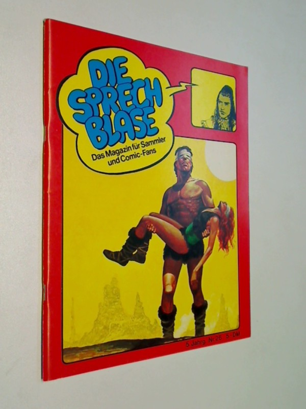 Die Sprechblase 26 mit Conan, Storm, Phantom,  15.3.1980, Hethke Comics , Das Magazin für Sammler und Comic-Fans.