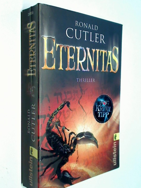 Cutler, Ronald: Eternitas. Thriller. ERSTAUSGABE 2009