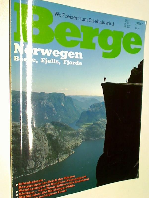 Berge Nr. 46 : Norwegen : Berge, Fjells, Fjorde.