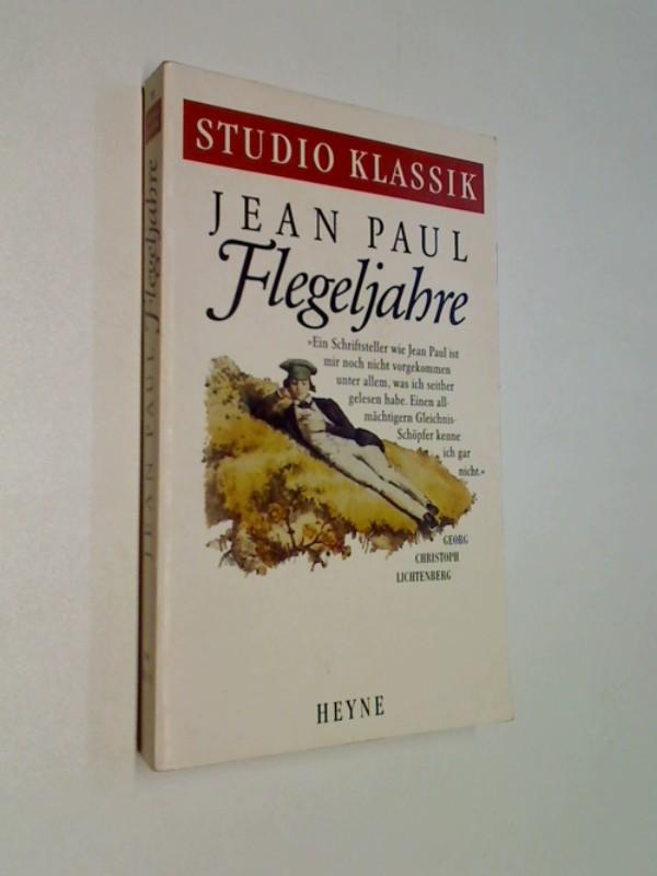 Flegeljahre. Eine Biographie. ERSTAUSGABE 1991