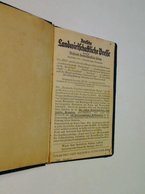 Deutsche Landwirtschaftliche Presse, vereinigt mit Illustrierte Landwirtschaftliche Zeitung (1940)
