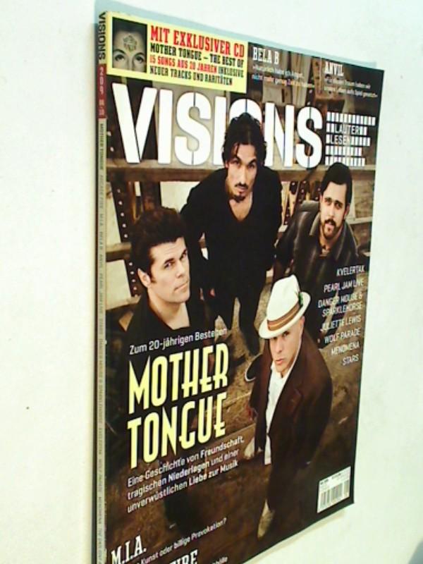 Visions Ausgabe 209 August 2010 Mother Tongue,Pearl Jam und Arcade Fire. Zeitschrift