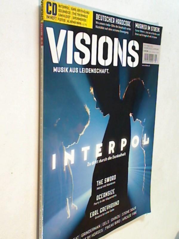 Visions Ausgabe 210 September 2010 Interpol, The Sword und Earl Greyhound. Zeitschrift