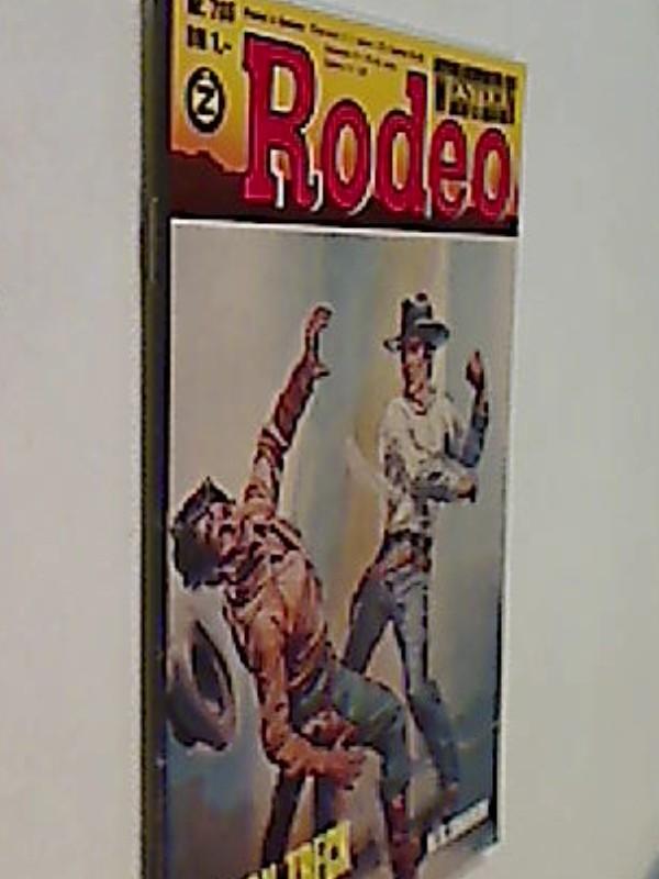 Western Rodeo Nr. 786 H. S. Sharon Oregon-Treck.  Roman-Heft
