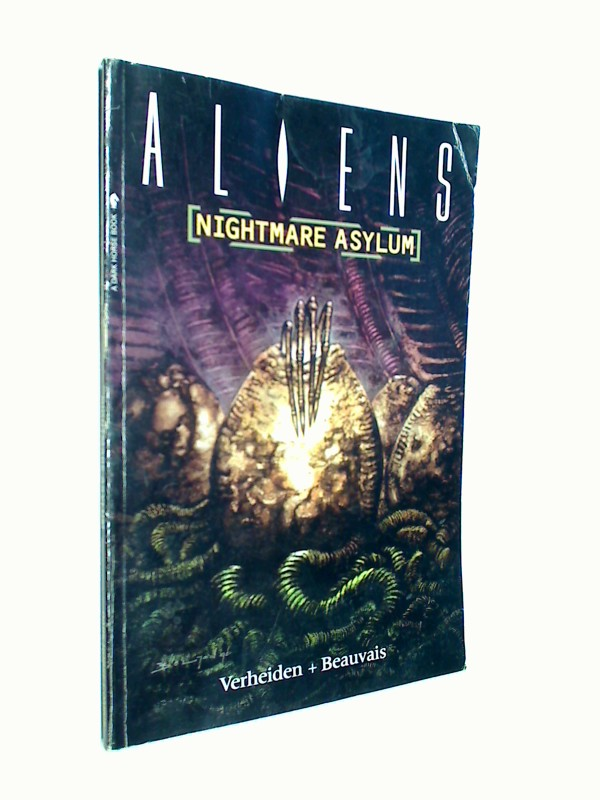 Aliens: Nightmare Asylum (Aliens Series) Dark Horse Comic paperback