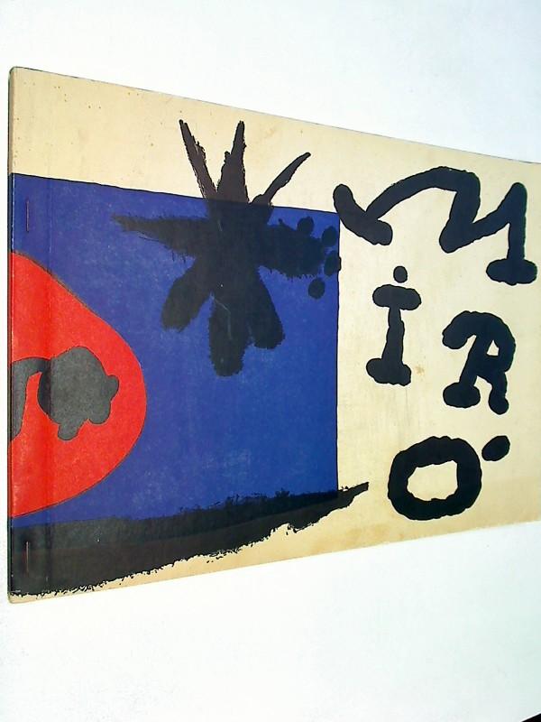 MIRO - DAS GRAPHISCHE WERK / THE GRAPHIC WORK / L'OEUVRE GRAPHIQUE .