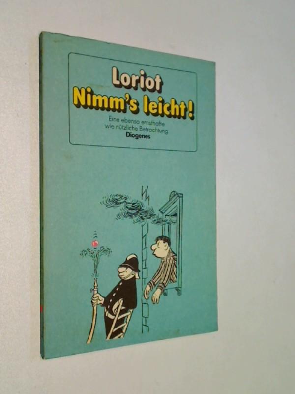 LORIOT: Nimm's leicht. Bilderbuch.