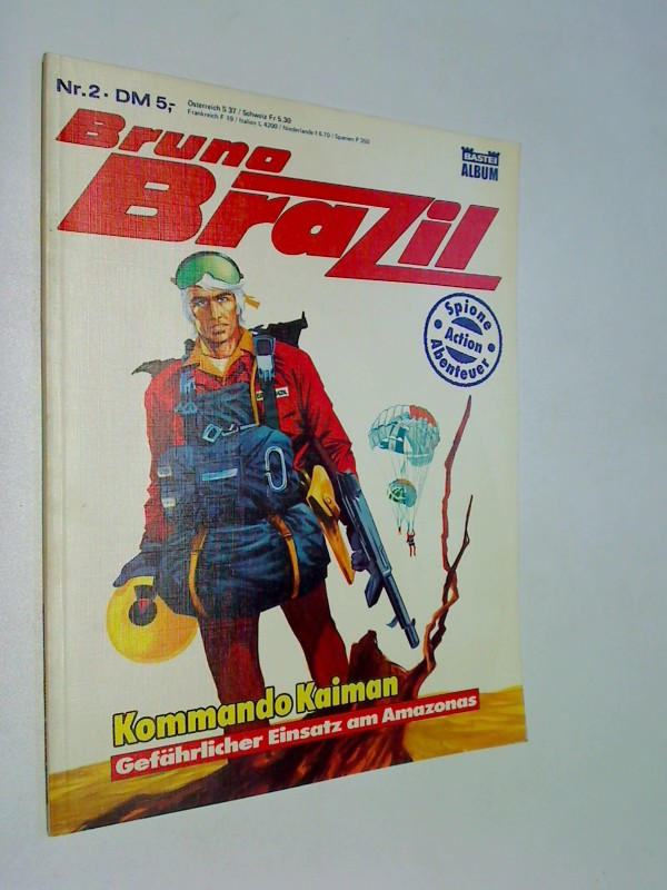 Bruno Brazil Nr. 2  Kommando Kaiman , Bastei Comic-Album
