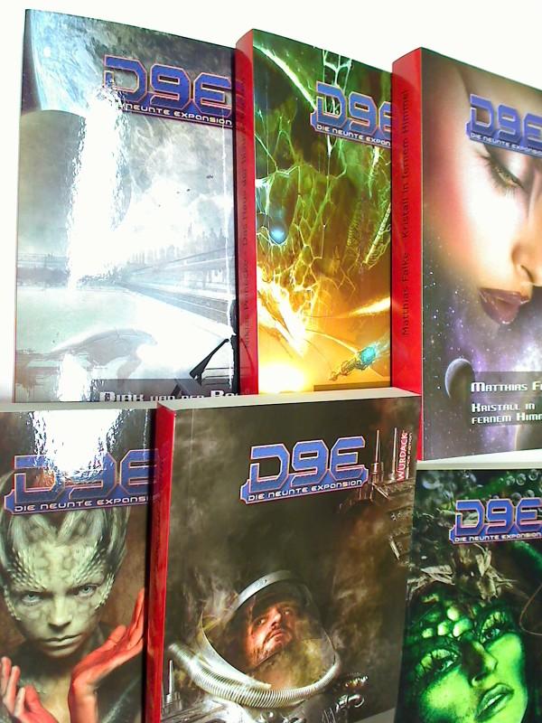 D9E - Die neunte Expansion. Bd. 1 bis 24 (= komplett). Science Fiction Romane