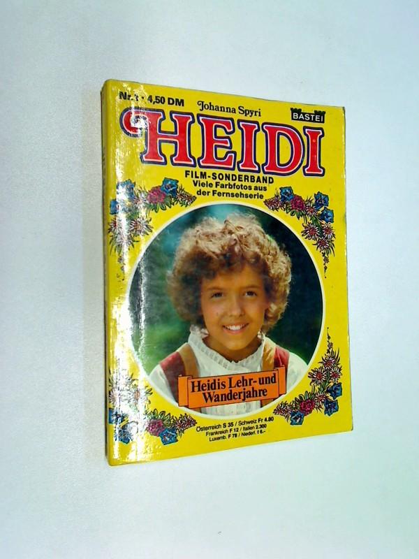 Heidi Film-Sonderband 1, Heidis Lehr- und Wanderjahre, ...Fersehserie ,  1977, Bastei