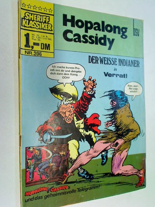 Sheriff Klassiker 206 Hopalong Cassidy , BSV Comics, Comic-Heft
