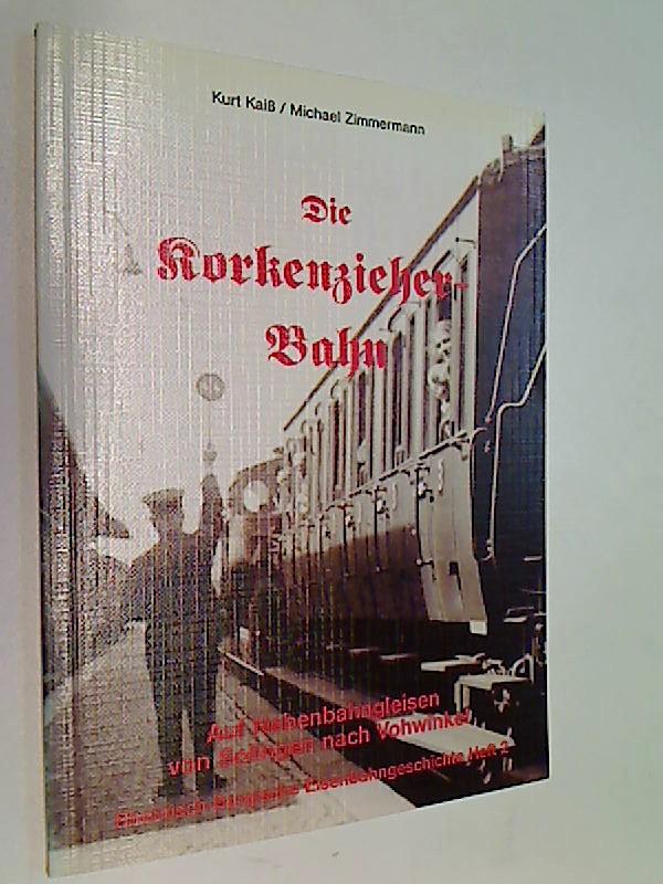 Die Korkenzieher-Bahn : auf Nebenbahngleisen von Solingen nach Vohwinkel. Rheinisch-bergische Eisenbahngeschichte Heft 2.