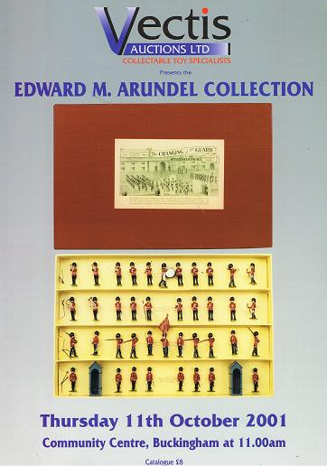 Vectis Auctions Ltd: Edward M. Arundel Collection, 11th October 2001, Community Centre, Buckingham.