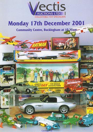 Vectis Auctions Ltd: 17th December 2001, Community Centre, Buckingham .