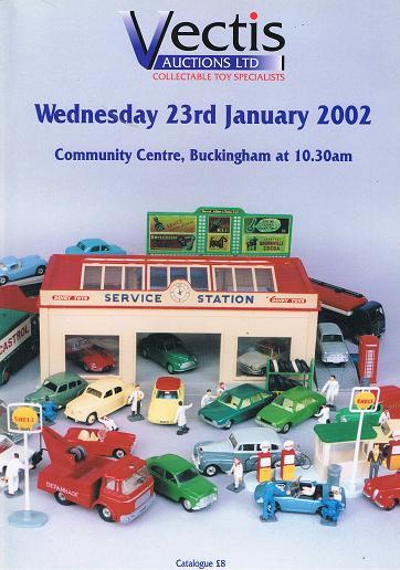 Vectis Auctions Ltd: 23rd January 2002, Community Centre, Buckingham.