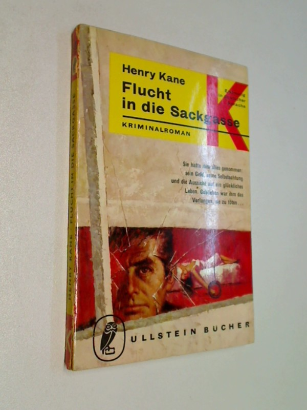 Flucht in die Sackgasse . Ullstein Kriminalroman 970, =  Run for Doom , ERSTAUSGABE 1964
