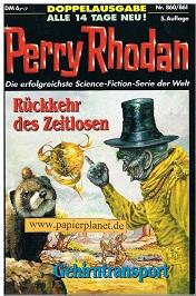 Perry Rhodan 5. Auflage Bd. 860-877, Romanhefte, Doppelausgabe. neun Ausgaben
