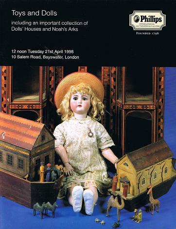 PHILLIPS: Toys & Dolls. London 21 st April 1998