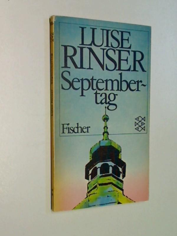 Septembertag. Fischer Taschenbuch 1695. 3436022187