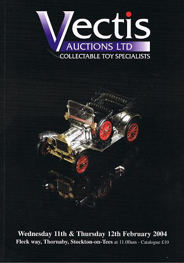 Vectis Auctions Ltd:11th & 12th February 2004,Fleck way,Thornaby, Stockton-on-Tees.