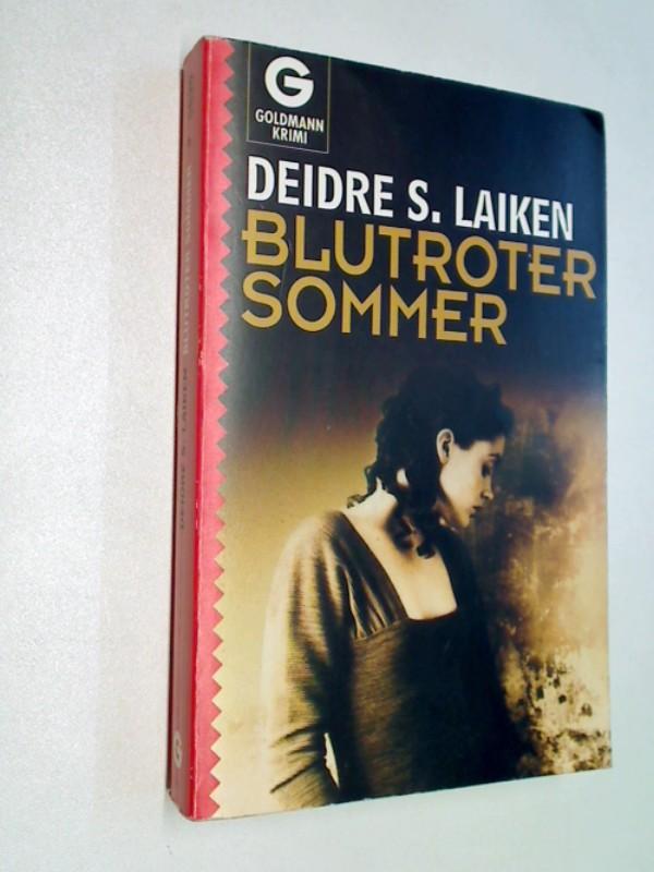 Blutroter Sommer , Kriminalroman.