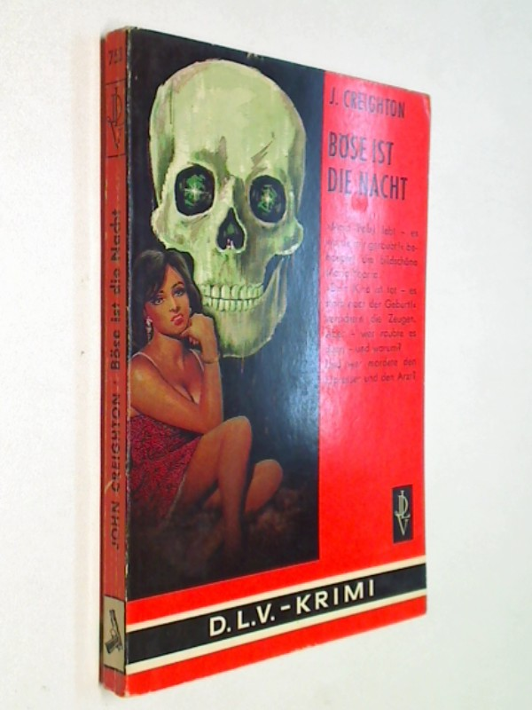 CREIGHTON, J.: Böse ist die Nacht.  Deutsche Literatur Verlag 753,