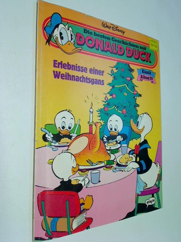 Die besten Geschichten mit Donald Duck Klassik Album 29  Erlebnisse eine Weihnachtsgans , Ehapa Comic, 1991