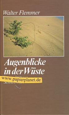 Augenblicke in der Wüste . Betrachtungen 1. Auflage 3795109086