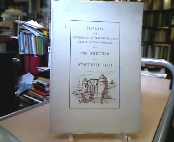 Festgabe des Historischen Vereins für die Grafschaft Ravensberg zur 750-Jahrfeier der Stadt Bielefeld am 6. Juni 1964. (= Sonderveröffentlichungen des Historischen Vereins für die Grafschaft Ravensberg, Heft 6 ).