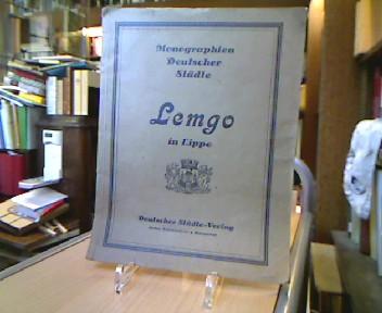 Die Stadt Lemgo in Lippe.