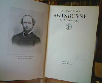 Welby, T. Earle. Swinburne.