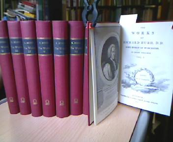 The Works (1811). Vol. I-VIII. ( complete) (= Anglistica & Americana. A Series of Reprints Selected by Bernhard Fabian, Edgar Mertner, Karl Schneider and Marvin Spevack , Vol. 44 ). 8 vol.
