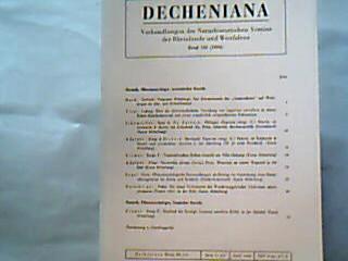 Decheniana. Verhandlungen des Naturhistorischen Vereins der Rheinlande und Westfalens. Bd. 133, 1