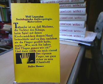 Soziologische Anthropologie : Materialien. Reihe Hanser , 80