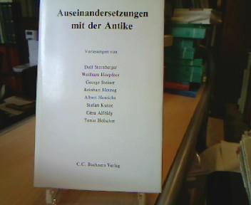 Auseinandersetzung mit der Antike. Thyssen-Vorträge.