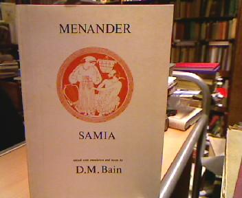 Samia (Classical Texts). Edited by David M. Bain. 2nd corrected impression.