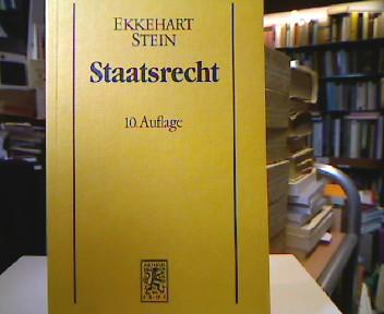 Staatsrecht. 10., völlig überarb. Aufl.