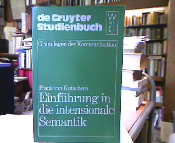 Einführung in die intensionale Semantik. De-Gruyter-Studienbuch : Grundlagen der Kommunikation.