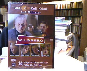 Folge 19: Unter Anklage; Folge 20 Filmriss. Der ZDF Kult-Krimi aus Münster (= Wilsberg DVD 10 ).